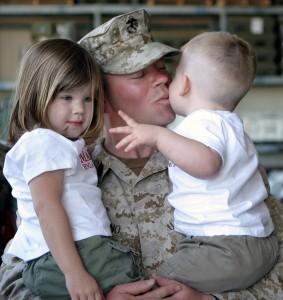 military serviceman